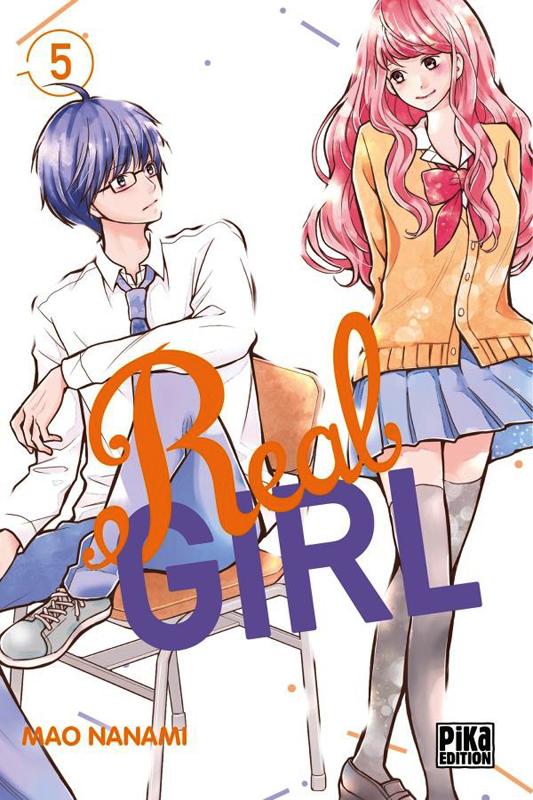 Real girl  T5, manga chez Pika de Nanami