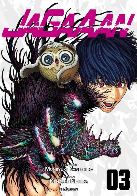 Jagaaan T3, manga chez Kazé manga de Kaneshiro, Nishida