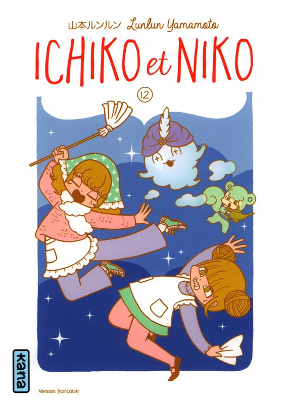 Ichiko & Niko T12, manga chez Kana de Yamamoto
