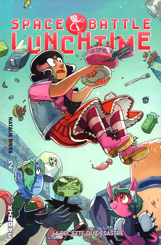 Space Battle Lunch Time T2 : La recette du désastre (0), comics chez Kinaye de Riess