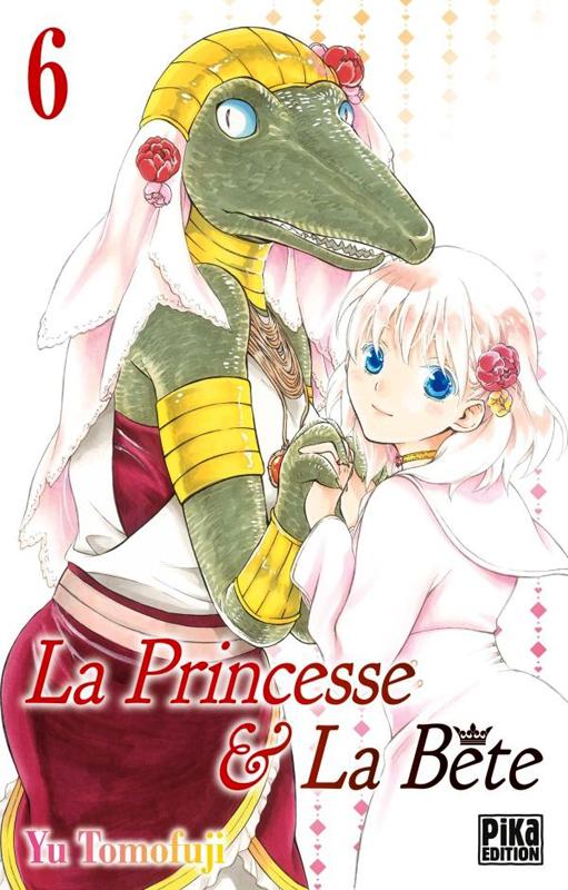 La princesse et la bête T6, manga chez Pika de Tomofuji