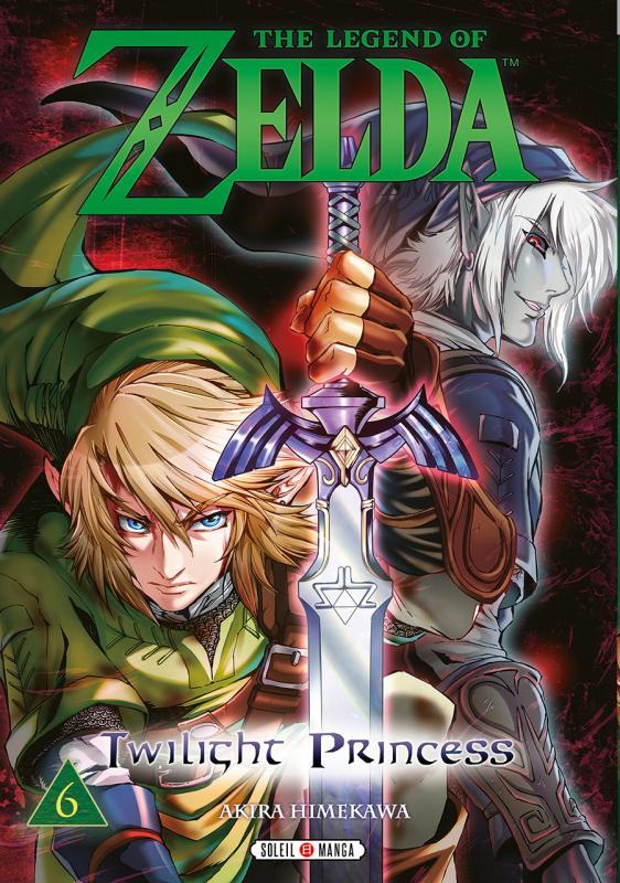 The legend of Zelda - Twilight princess T6, manga chez Soleil de Himekawa