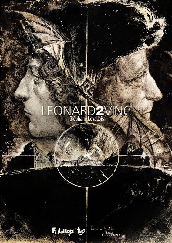 Léonard 2 Vinci, bd chez Futuropolis de Levallois