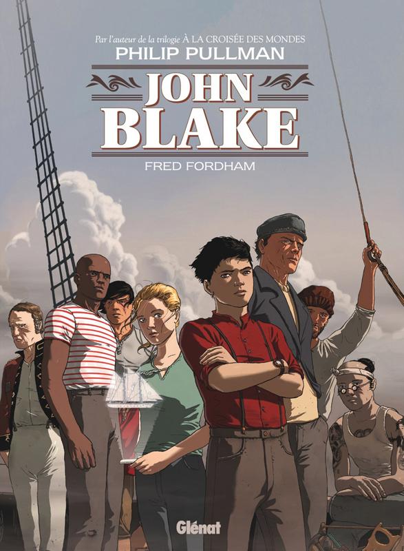 John blake T1, bd chez Glénat de Pullman, Fordham