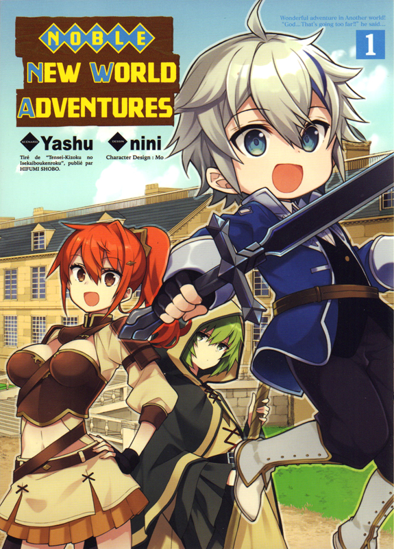 Noble new world adventures T1, manga chez Komikku éditions de Yashu, NINI - Japon