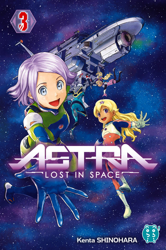 Astra - Lost in space T3, manga chez Nobi Nobi! de Shinohara
