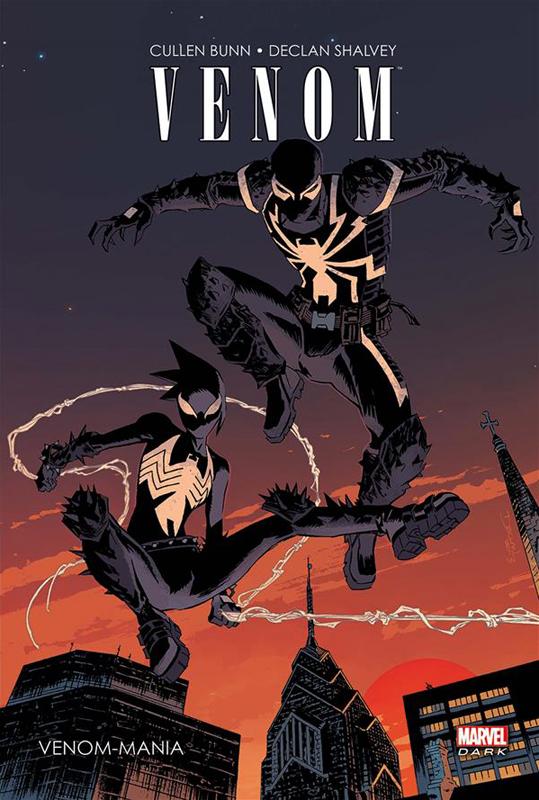 Venom-Mania, comics chez Panini Comics de Bunn, Coelho, Shalvey, Jacinto, Henderson, Larraz, Loughridge