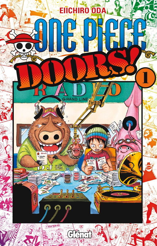 One piece doors T1, manga chez Glénat de Oda