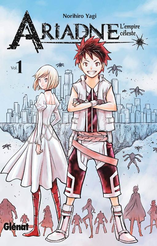 Ariadne l'empire céleste T1, manga chez Glénat de Yagi