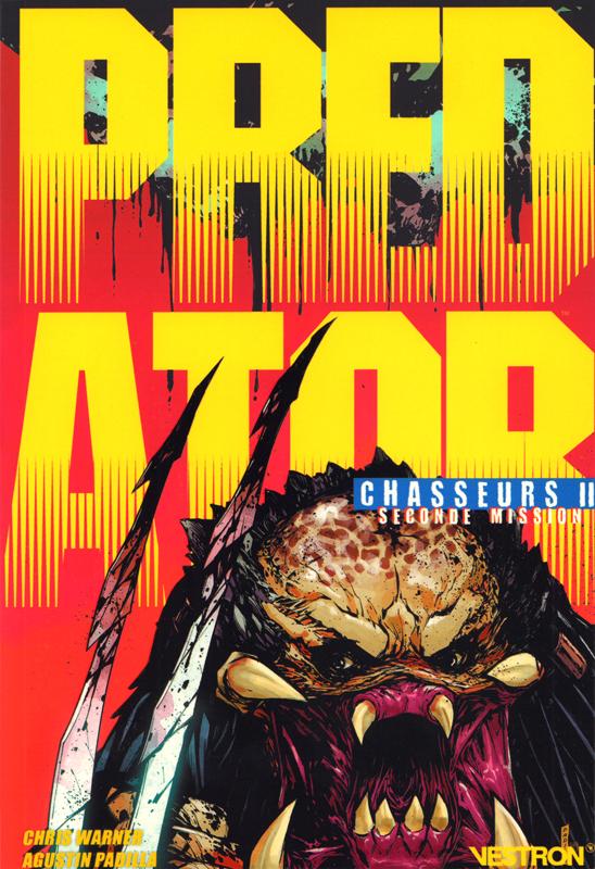Predator : Chasseurs 2 : Seconde mission (0), comics chez Vestron de Warner, Brase, Padilla, Menon