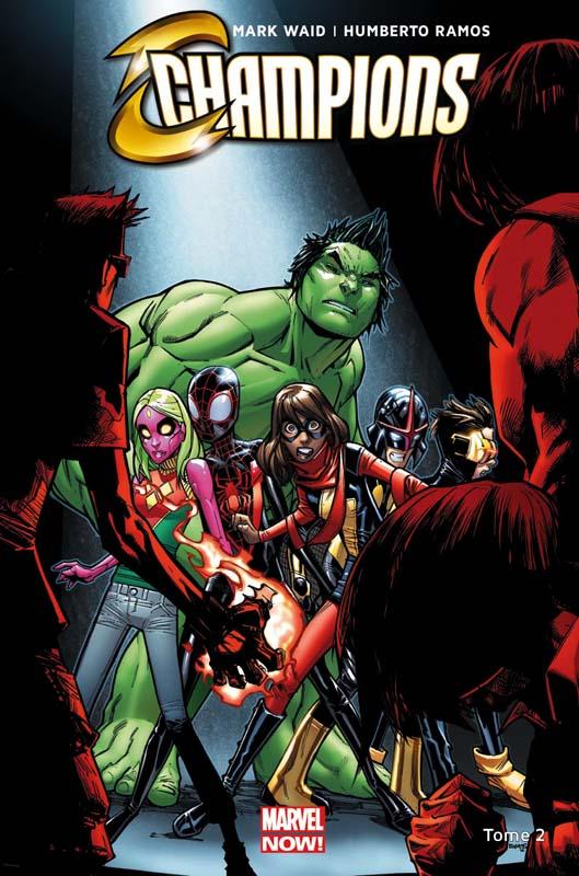 Champions T2 : Mise au point (0), comics chez Panini Comics de Waid, Ramos, Delgado, Woodard
