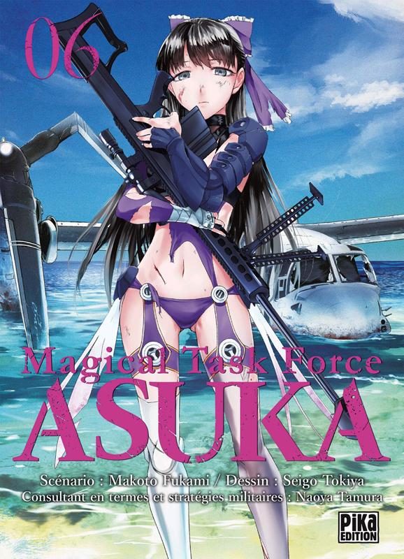 Magical task force Asuka T6, manga chez Pika de Fukami, Tokiya
