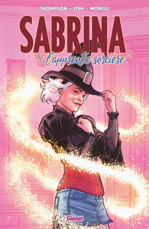 Sabrina L'apprentie sorcière T1 : L'apprentie sorcière (0), comics chez Glénat de Thompson, Fish, Fish, Ibañez