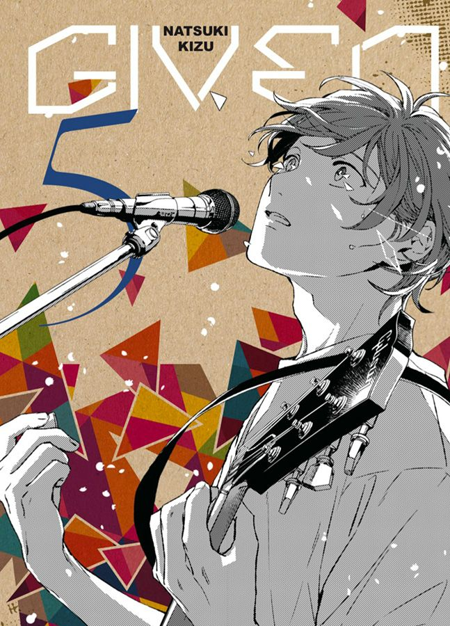 Given T5, manga chez Taïfu comics de Kizu
