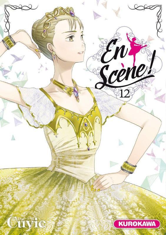 En scène !  T12, manga chez Kurokawa de Cuvie