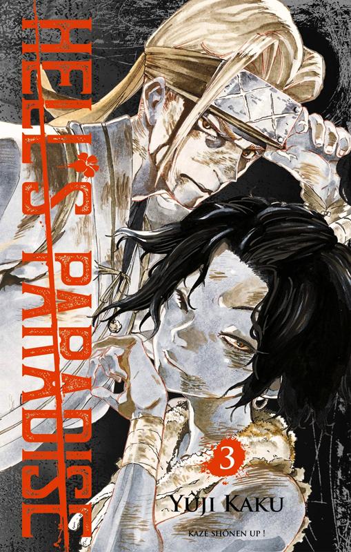 Hell's paradise T3, manga chez Kazé manga de Kaku