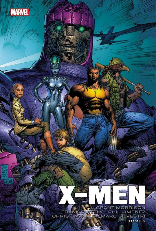 X-Men T2, comics chez Panini Comics de Morrison, Quitely, Bachalo, Silvestri, Jimenez, d' Armata, Sotelo, Chuckry, Starr, Milla, McCaig, Firchow, Buccellato
