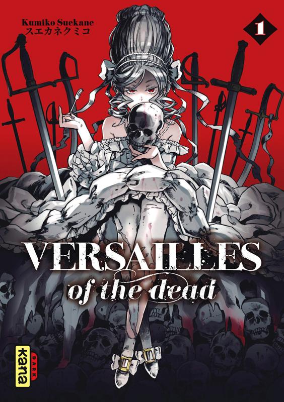 Versailles of the dead T1, manga chez Kana de Suekane