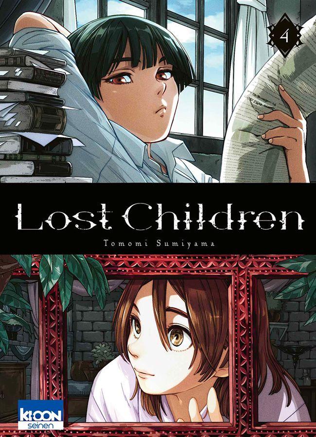 Lost children T4, manga chez Ki-oon de Sumiyama