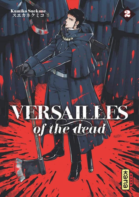 Versailles of the dead T2, manga chez Kana de Suekane
