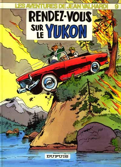 Valhardi T9 : Renez-vous dans le Yukon (0), bd chez Dupuis de Philip, Jijé