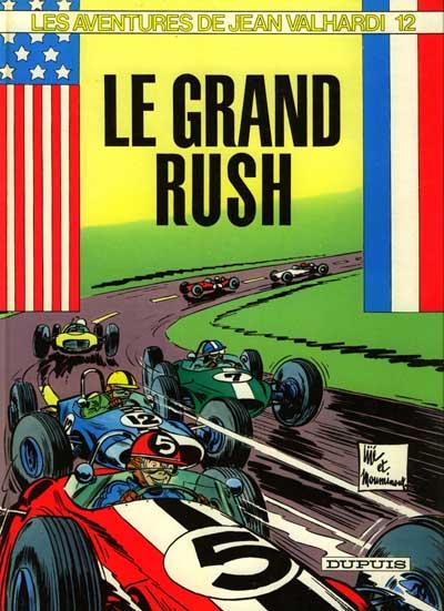 Valhardi T12 : Le grand rush (0), bd chez Dupuis de Mouminoux, Jijé
