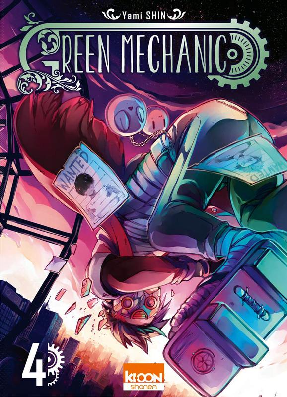 Green mechanic T4, manga chez Ki-oon de Shin