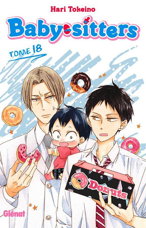 Baby sitters T18, manga chez Glénat de Tokeino