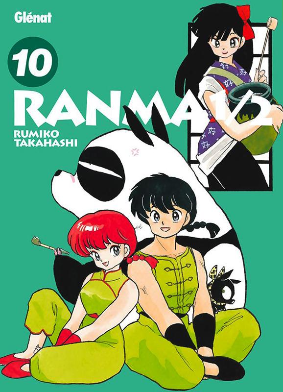Ranma ½ T10, manga chez Glénat de Takahashi