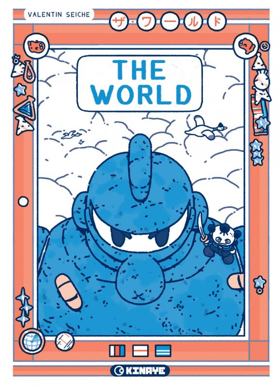 The World, comics chez Kinaye de Seiche