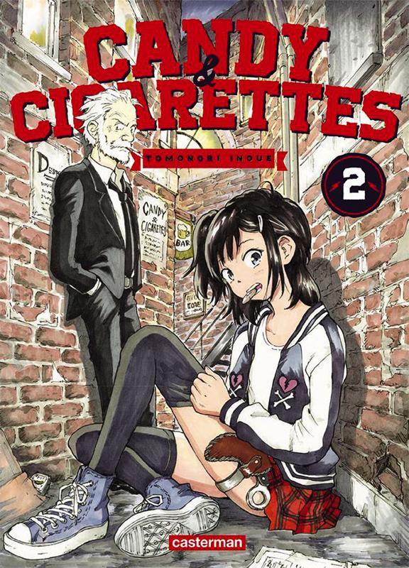 Candy & cigarettes T2, manga chez Casterman de Inoue