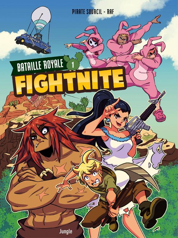 Fightnite T1 : Les campeurs (0), bd chez Jungle de Piratesourcil, Raf, Wenish