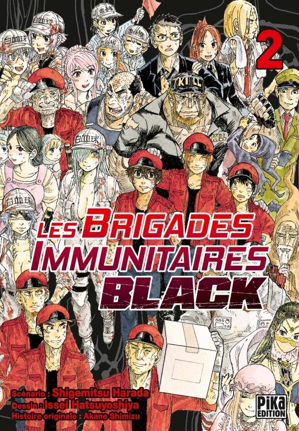 Les brigades immunitaires Black  T2, manga chez Pika de Shigemitsu, Issei