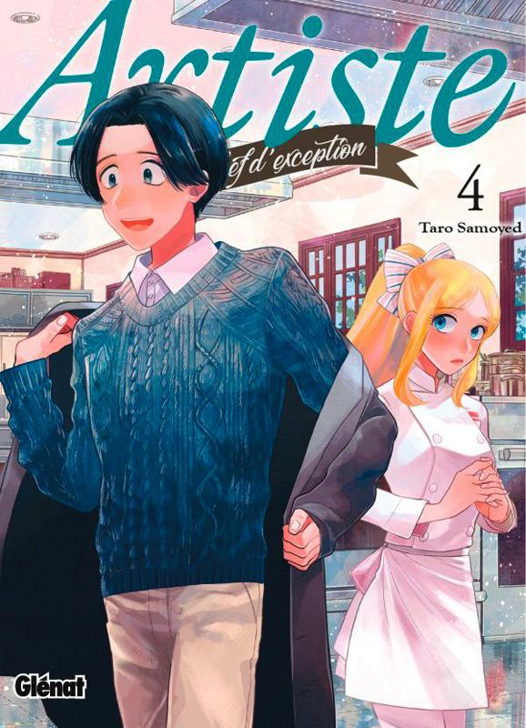 Artiste T4, manga chez Glénat de Samoyed