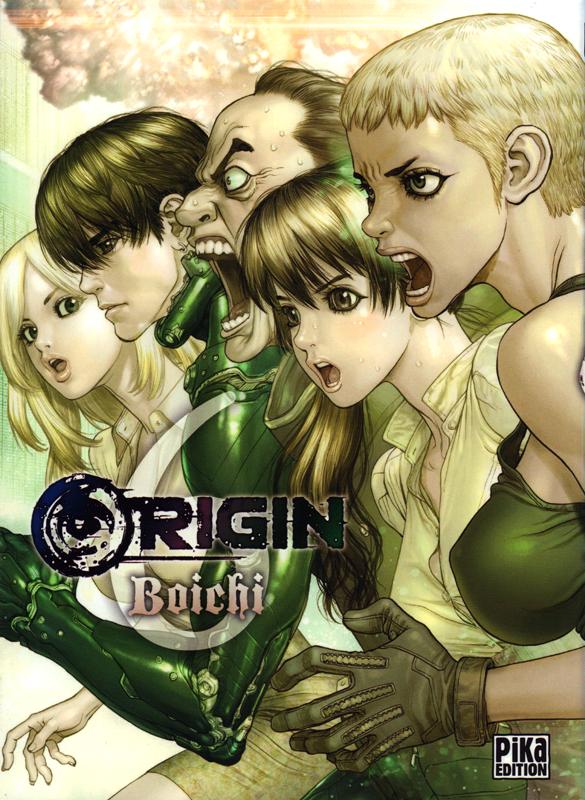 Origin T6, manga chez Pika de Boichi
