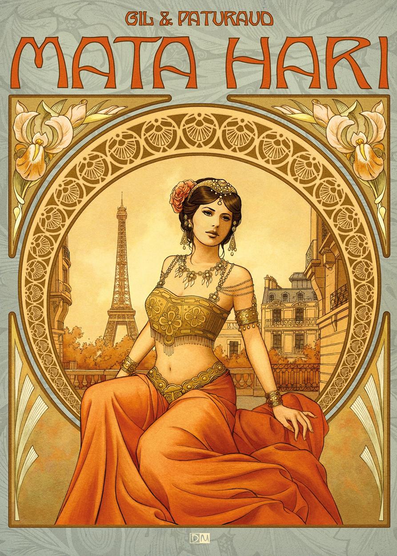 Mata Hari, bd chez Daniel Maghen de Gil, Paturaud