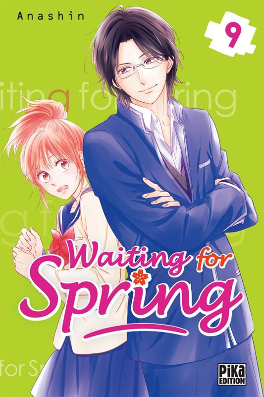 Waiting for spring T9, manga chez Pika de Anashin