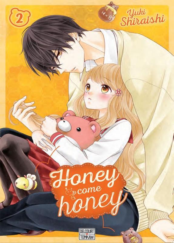 Honey come honey T2, manga chez Delcourt Tonkam de Shiraishi