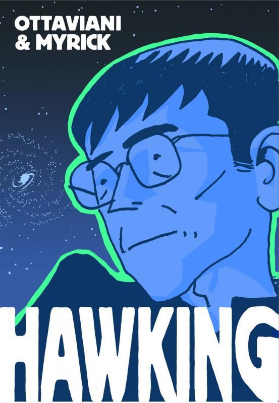 Hawking, comics chez Vuibert de Ottaviani, Myrick, Polk
