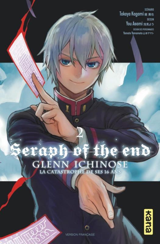 Seraph of the end - Glenn Ichinose T2, manga chez Kana de Kagami, Yamamoto