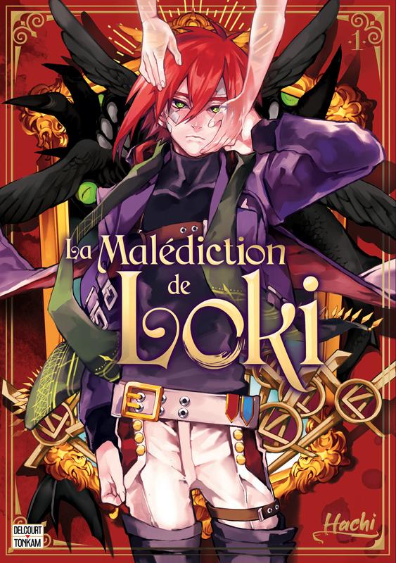 La malédiction de Loki T1, manga chez Delcourt Tonkam de Hachi