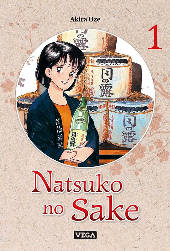Natsuko no sake T1, manga chez Vega de Oze