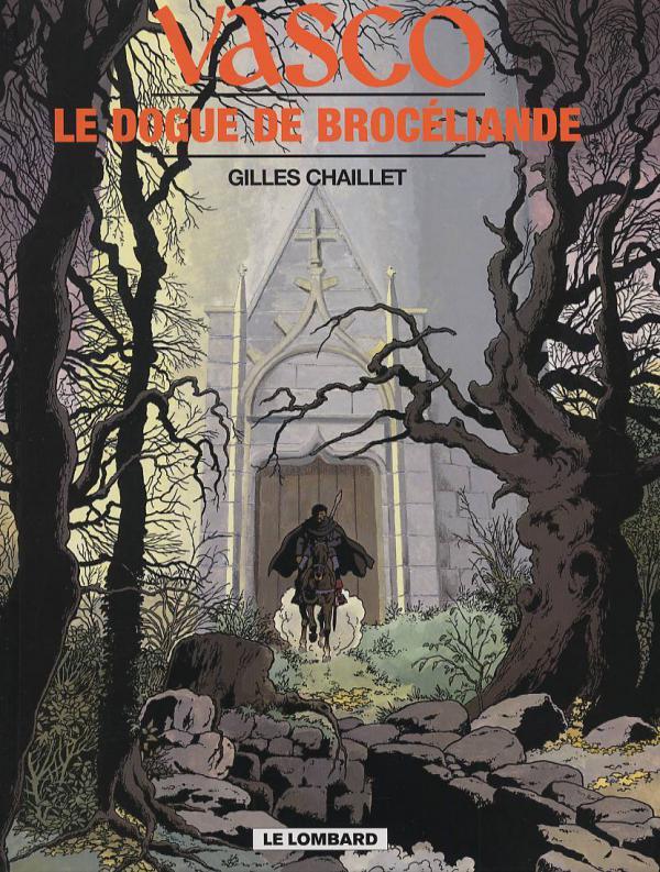 Vasco T20 : Le Dogue de Brocéliande (0), bd chez Le Lombard de Chaillet, Defachelle