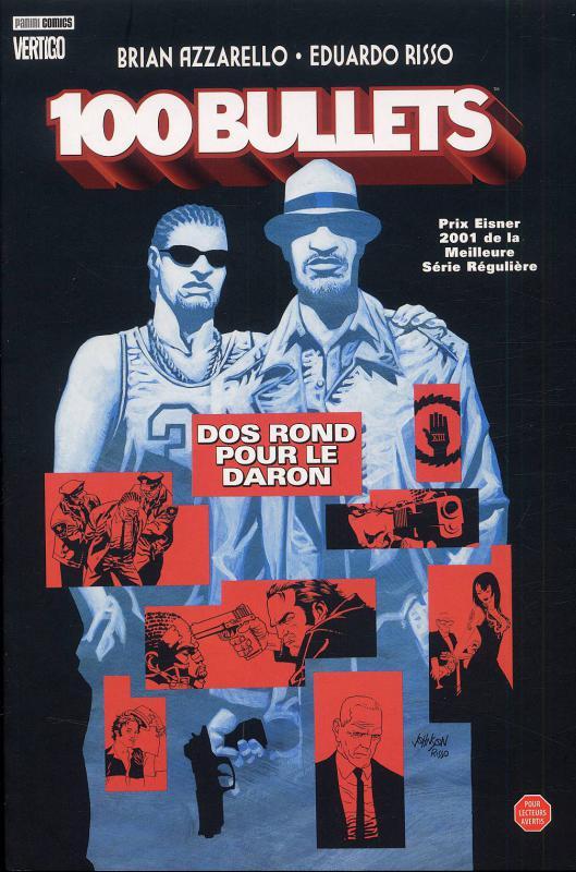 100 Bullets – Edition Softcover, T4 : Dos rond pour le daron (0), comics chez Panini Comics de Azzarello, Risso, Mulvihill, Johnson