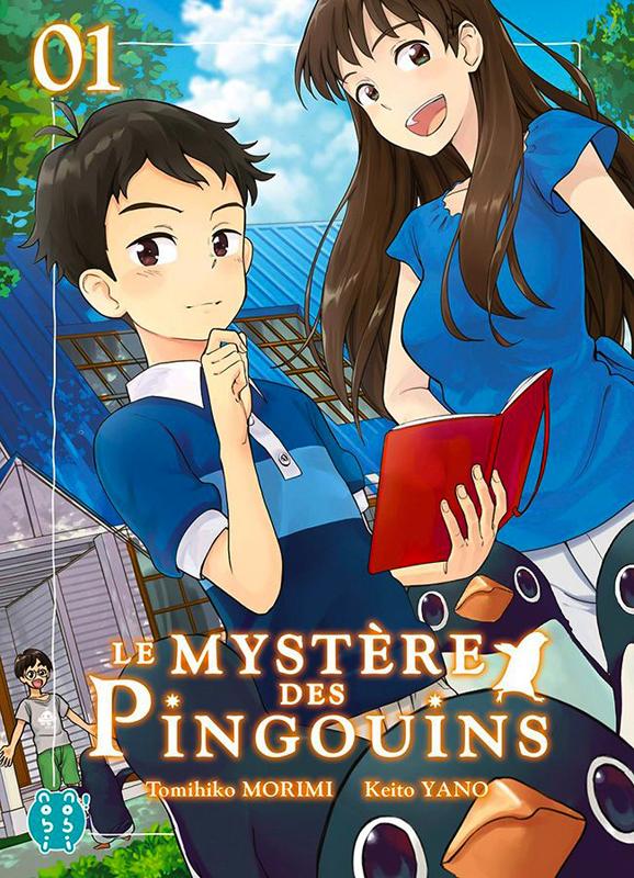 Le mystère des pingouins T1, manga chez Nobi Nobi! de Morimi, Yano