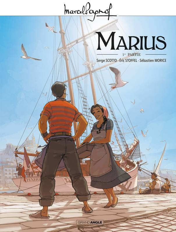 Marius, bd chez Bamboo de Stoffel, Scotto, Morice