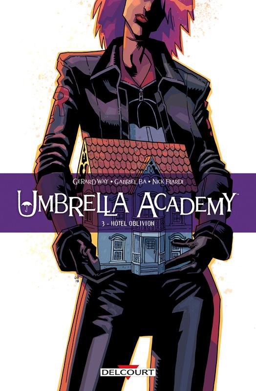Umbrella Academy T3, comics chez Delcourt de