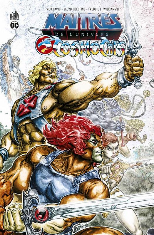 Les maîtres de l'univers Cosmocats, comics chez Urban Comics de Goldfine, David, Williams II, Colwell