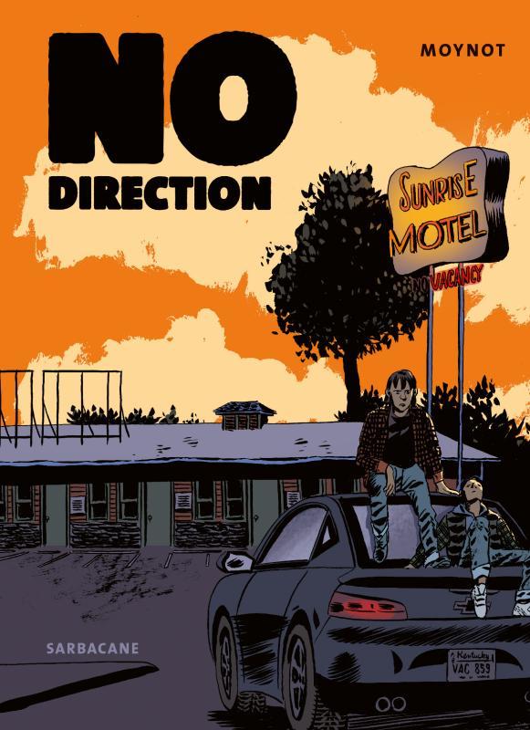No direction, bd chez Sarbacane de Moynot