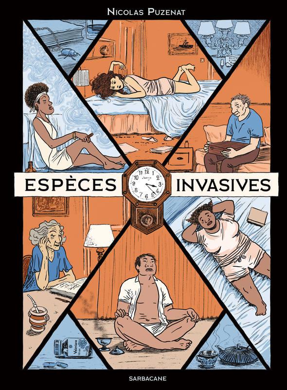 Espèces invasives, bd chez Sarbacane de Puzenat